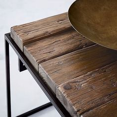 Журнальный стол Loft Timber Bar Coffee Table @woodinteriaru