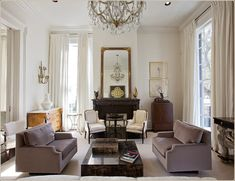 Greek revival style house of Jon Vaccari in New Orleans
