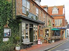 Holt North Norfolk, try Byfords café & shop for delicious goodies or pop over to Bakers & Larners a truly old fashioned (in a good way) British Department Store, it has everything you may need, prides itself in high quality goods and a fab foodhall!