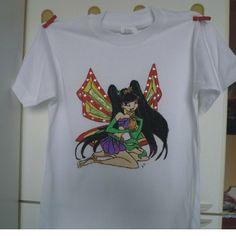 Tshirt Musa, by Laboratorio Elisa Villalba, 12,00 € su misshobby.com
