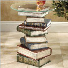 Mesa de livros