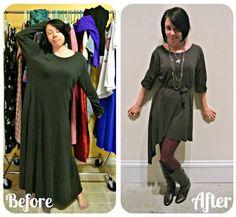 Mujer recicla ropa de segunda mano en vestidos con estilo - Vida Lúcida