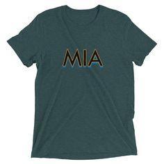 Miami Airport Code Men's Baseball T-Shirt