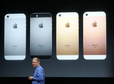 As expected, Apple introduces a cheaper, tinier iPhone, which starts at $399 and goes on sale Thursday.