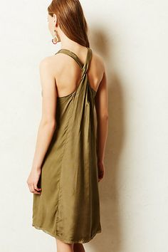 Escondido Silk Dress - anthropologie.com