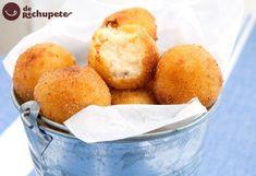 Croquetas de queso. Receta francesa Spanish Cuisine, Cornbread, Entrees, A Food, Appetizers, Fruit, Cooking, Ethnic Recipes, Party Recipes