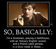 This sums David Tennant up so well!!!! -Doctor Who -DavidTennant -10th doctor