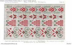 upploaded from ru Cross Stitch Borders, Cross Stitch Patterns, Das Abc, Loom Beading, Rug Hooking, Cross Stitch Embroidery, Art Nouveau, Art Deco, Needlepoint