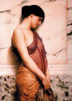 Το Κοριτσι με το ντέφι, Γκοντγουορντ | Καμβάς, αφίσα, κορνίζα, λαδοτυπία, πίνακες ζωγραφικής | Artivity.gr