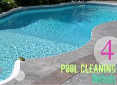 4 Pool Cleaning Methods | Keep your pool water crystal clear with one of these four cleaning methods! | #Ad