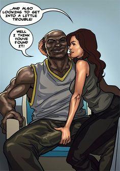 The KarASSians the Next Generation / Interracial comix / Cuckold