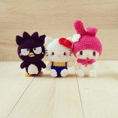 A closer look at my favourite Sanrio trio!