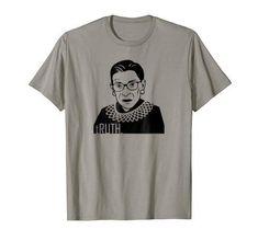 d21279015 Ruth Bader Ginsburg, Christian Tees, Funny Shirts, Graphic Tees, Shirt  Designs, Graphic T Shirts