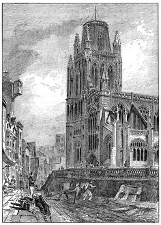 St Mary Redcliffe in the seventeenth century from: JF Nicholls and John Taylor, Bristol Past and Present (Bristol: Arrowsmith, text by JF Nicholls (d. and John Taylor (d. City Of Bristol, Bristol Uk, Uk History, Local History, Farm Shop, John Taylor, Hill Station, Great Places, 19th Century