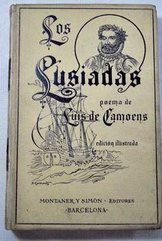 Los Lusiadas. Poema épico en diez cantos/Camões, Luís de Book Covers, Books, Frases, Books To Read, Reading, Medieval Theatre, Verses, Poems, Livros