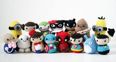 Artist Hides Mini Crochet Characters for People to Find at Comic Con - Geeky Hooker