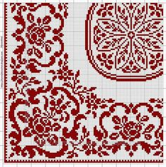 Beaded Cross Stitch, Cross Stitch Rose, Cross Stitch Borders, Cross Stitch Designs, Cross Stitching, Cross Stitch Embroidery, Cross Stitch Patterns, Filet Crochet Charts, Crochet Stitches