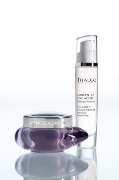 Thalgo Anti-Ageing Collagen Range is designed for first wrinkles from the age of 25, when the skin's collagen stores begin to deplete.