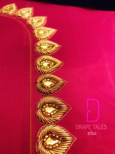 Bridal work from Drape Tales  #drapetales #fashion #style #design #boutique #kerala #9746594988