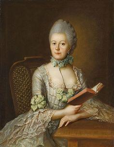 1760s - Anna Victoriamaria von Rohan, Prinzessin von Soubise by Johann Heinrich Tischbein