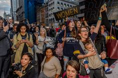 The #GOPHandsOffMe movement returns for its third wave of protests across the country. In NYC, they formed a wall of women, sending a clear message that women of color will defeat Trump and the GOP's politics of racism and misogyny