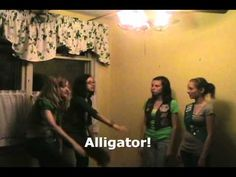 Learn the lyrics and tune to the Alligator Song- a classic Girl Scout camp song!