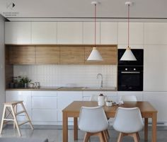 50 Best Small Kitchen Remodel Designs for Smart Space Management Ikea Kitchen, Kitchen Furniture, Kitchen Interior, Kitchen Decor, Kitchen Cabinets, Wood Furniture, Kitchen Design Open, Scandinavian Kitchen, Küchen Design