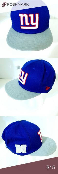 New York Giants Snapback ball cap New without tags New Era Accessories Hats