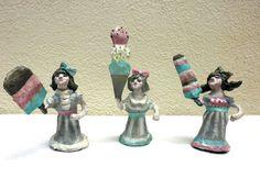 Web-Ice-Cream-Girls-P-Mache-All-1 by Artist in LA LA Land Illustration, via Flickr