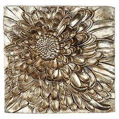 Z Gallerie - Dahlia Plaque