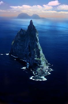 Lord Howe Island, Australia : Ball Pyramid is the worlds tallest sea stack. I would love to visit Lord Howe Is.