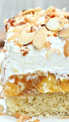 Market Monday: Better Than Anything Peach Cake