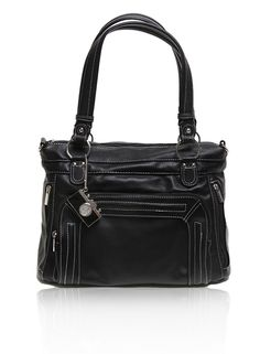 Ginger in Black.  Epiphanie Fashionable Camera bags. Less trendy, more classic and rugged looking - just plain cool.