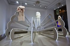 Chloé: Official Opening Windows, St Honore Paris - Jan. 2013 - Paris made   by  and via chameleonvisual