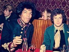Jimi Hendrix & Eric Clapton