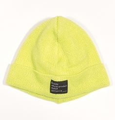 B-side BEANIE STYLE#-TAG FLORESCENCE GREEN £35.00