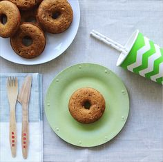 Cornbread Donuts for Dads' Day | Susty Party