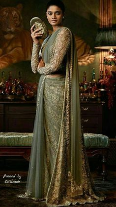 Indian engagement dresses, just like the bridal trousseau is one of the most important things for the bride to get right. Sabyasachi Sarees, Anarkali, Lehenga Choli, Indian Engagement Dress, Engagement Dresses, Indian Dresses, Indian Outfits, Asian Fashion, Colors
