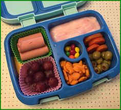 The Lucky Lunchbox/ Back-to-school lunch in the Bentgo Kids lunchbox