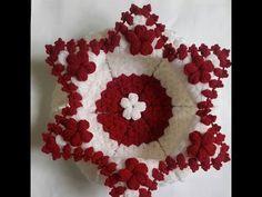 Artwork, Youtube, Pattern, Handmade, Stuff To Buy, Crocheted Flowers, Towels, Crochet Trim, Binder