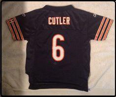 04df22c3f17 EUC+ Size 2T CHICAGO BEARS JAY CUTLER #6 Jersey bt Reebok #Reebok Nfl  Apparel