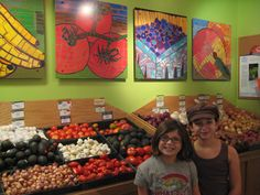 Such a cool story about kids turning their artwork into digital images for use in a community business and gaining a profit to buy art supplies for local schools Collaborative Art Projects, Classroom Art Projects, Art Classroom, Group Projects, High School Art, Middle School Art, Mural Ideas, Art Ideas, Community Art