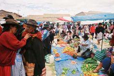 Tarabuco Market, between Sucre and Potosi, Bolivia