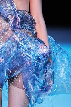 "Close up detail of ""Plato's Atlantis"", Alexander McQueen collection Atlantis, Alexander Mcqueen, High Fashion, Fashion Show, Couture Fashion, Paris Fashion, A Level Textiles, Vogue, Fashion Details"