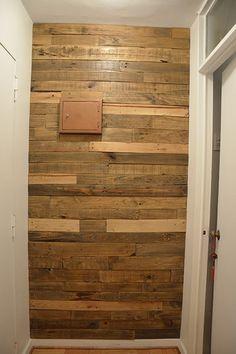 1000 images about revestimientos de muro en madera y - Muro de madera ...