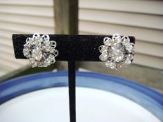 Vintage Sarah Coventry Silver Rhinestone by PaganCellarJewelry, $15.99