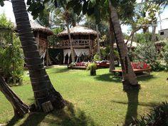 Nosso jardiim// Vila Kalango's garden.  #vilakalango #restaurant #beach #jericoacoara #ceará #brazilbeaches