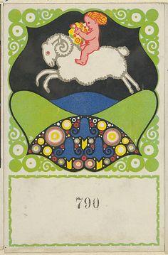 Putto Riding a Ram