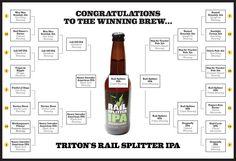 2014 Indianapolis Beer Bracket Winner: Triton's Rail Splitter IPA