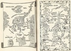 shannara-wishsong Fantasy Map, Fantasy Books, Fantasy Artwork, Shannara Map, Dragon Line, Shannara Chronicles, Pirate Life, Cartography, Dungeons And Dragons